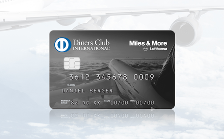 DINERS CLUB<br /> <strong>MILES &amp; MORE</strong><br /> CARD