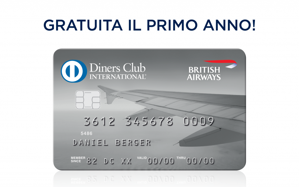 Carta Diners Club <b>British Airways</b>