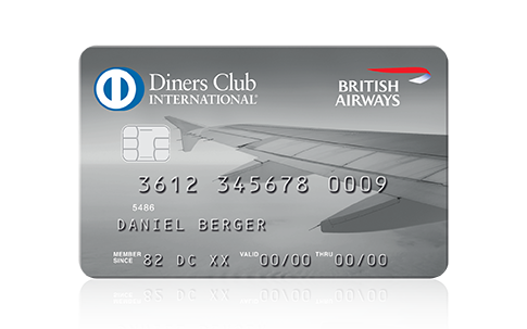 Diners Club <b>British Airways</b> Karte