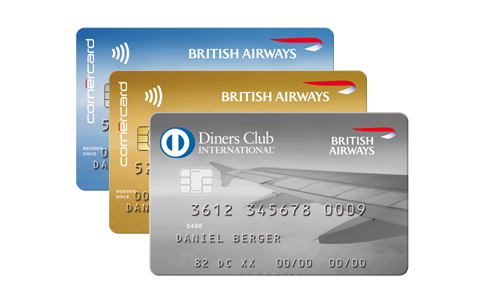 Cornèrcard <b>British Airways</b> Kombi-Angebot