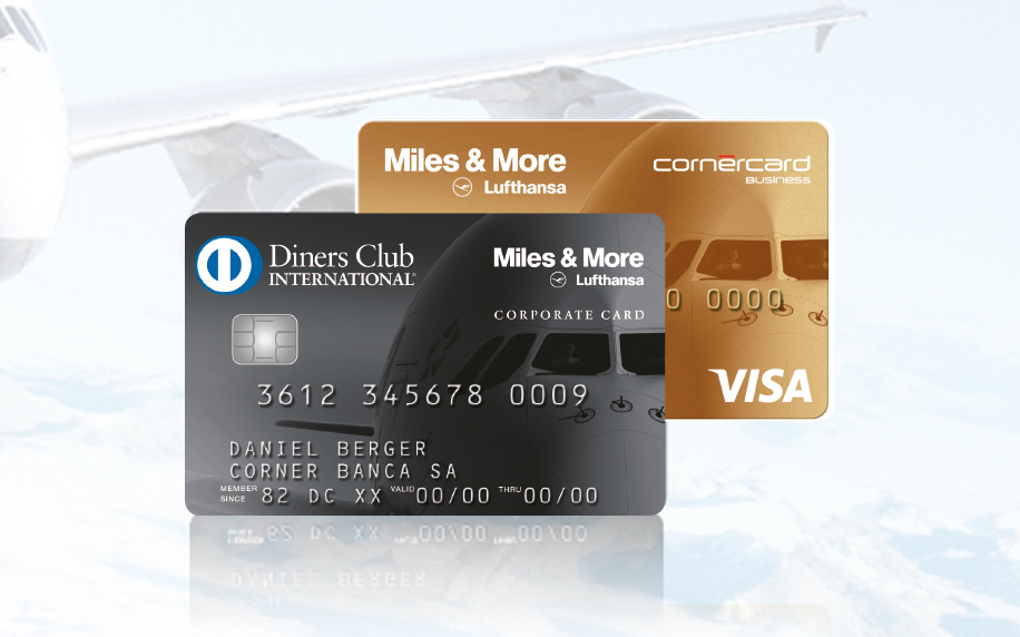 the best of both worlds all for the price of just one card with the diners club card your staff will automatically earn 1 award mile for every chf 1 - Visa Corporate Card